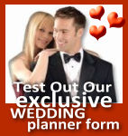 Our Wedding Planner Form is a must for Determining and deciding on all of your traditional and non-traditional options for your Wedding Reception.